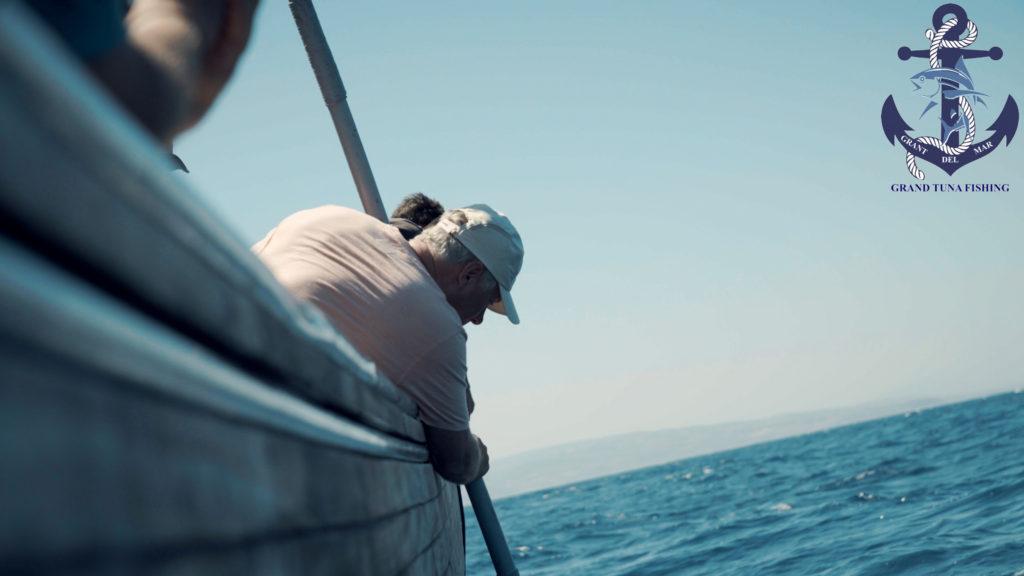 Fishing bluefin tuna