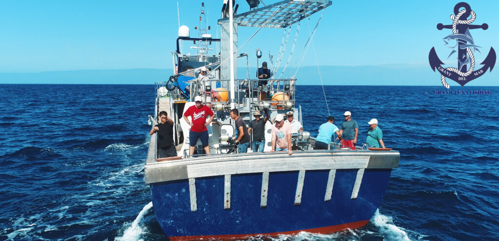 Fishing giant tuna