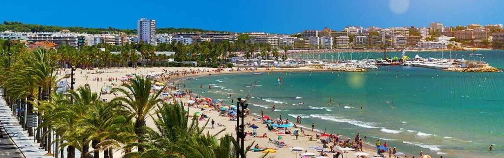 Tourist vacation in Spain