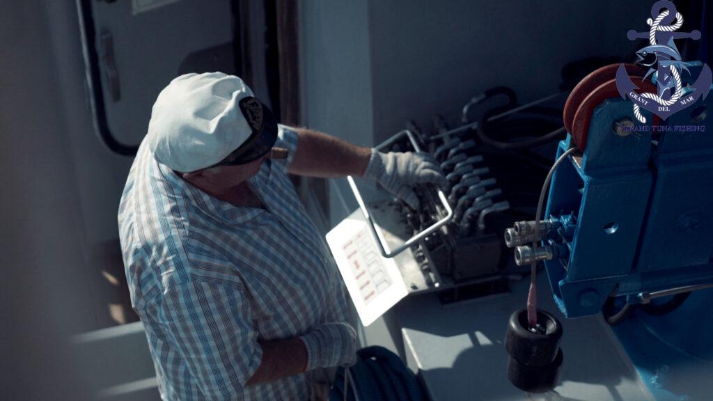 Pesca de atún en el mar Mediterráneo