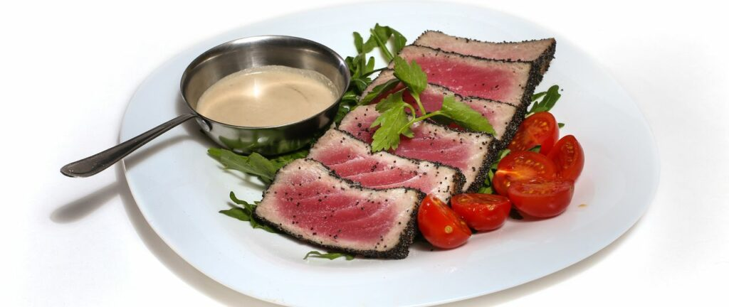 Филе красного тунца рецепты